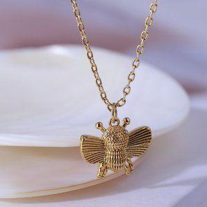 Kate Spade Bee Daisy Necklace